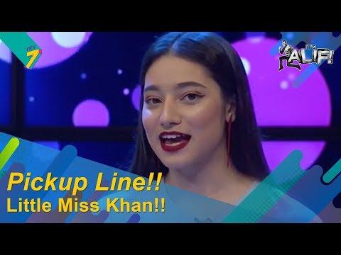 Ketemu Tetamu | Little Miss Khan Cakap Kelate PRU Pick Up Lines | It's Alif!