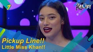 Little Miss Khan Cakap Kelate PRU Pick Up Lines | It's Alif!