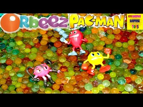 ORBEEZ Magic Scented Water Balls Pacman and the Ghostly Adventures I Kids Backpack Surprise Toys