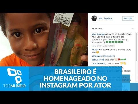 Brasileiro é Homenageado No Instagram Por Ator De 'O Despertar Da Força'