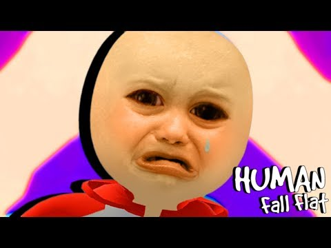 HUMAN FALL FLAT BUT I FALL FLAT ON MY FACE