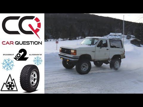 Winter Tire Review: All-Terrain T/A KO2 With MR Ford BRONCO!