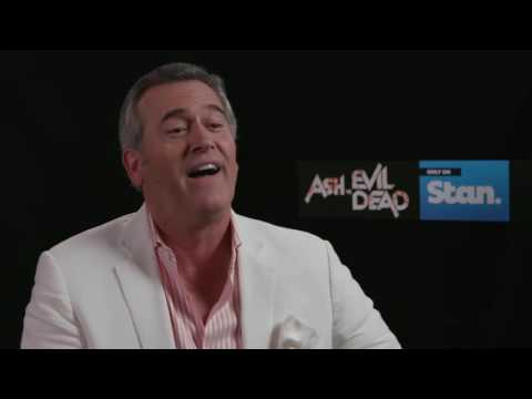 "Will there be a musical episode of ""Ash vs Evil Dead""? And what scares Bruce Campbell?"