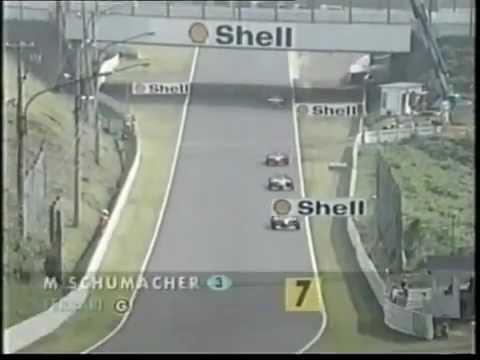 Jacques V vs Damon Hill vs Schumi Suzuka 1998
