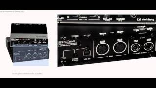 mein youtube setup steinberg ur22 audio interface german deutsch tutorial