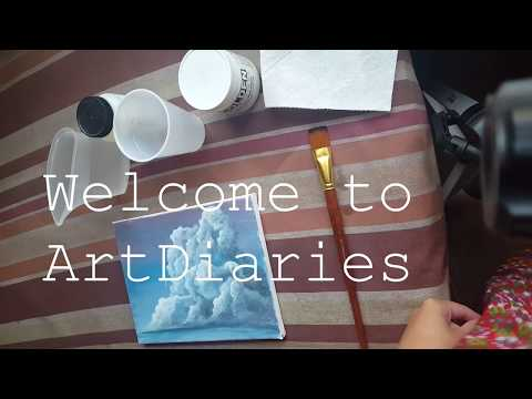 How to Varnish acrylic Paintings
