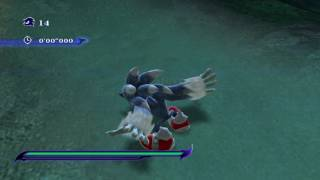 Sonic Unleashed (Wii) Abadat Jungle Joyride Nighttime Stages