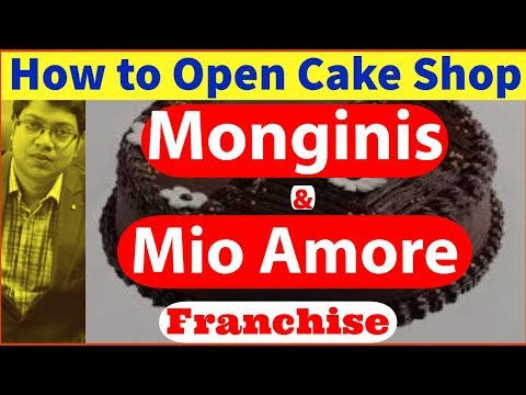 How To Open Cake Shop In India 2019   Monginis & Mio Amore Franchise   Loan For Franchise   In Hindi