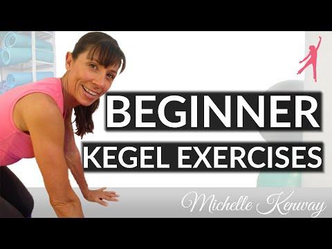 Kegel Exercises Beginners Workout For Women  YouTube