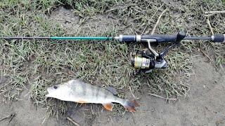 Окунь на ультралайт классная рыбалка Озеро Андреевское NIK_72