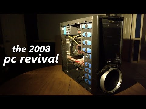 The 2008 PC Revival (ft. i7-920 + HD 4870)