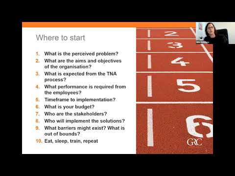 Training Needs Analysis - An Introduction (Webinar)из YouTube · Длительность: 56 мин30 с