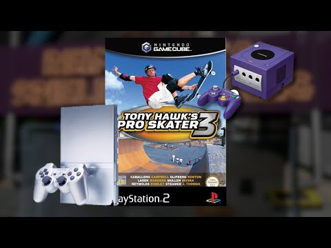 Compare : Tony Hawks Pro Skater 3 [Gamecube] - [Playstation 2] Side by Side