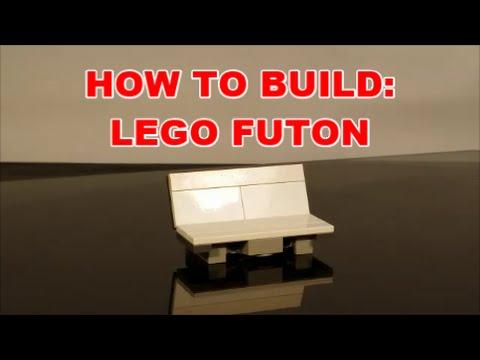 how to build lego futon by bx brix   youtube  rh   youtube