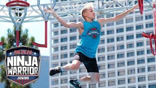 Ninja Warriors BATTLE for TOP 12 SPOT (EP 2) | American Ninja Warrior Junior | Universal Kids