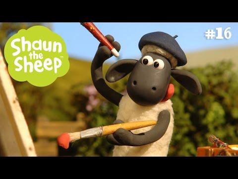 Tranh sơn dầu - Những Chú Cừu Thông Minh