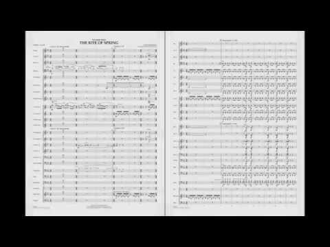 Excerpts from The Rite of Spring by Stravinsky/arr. Buckley