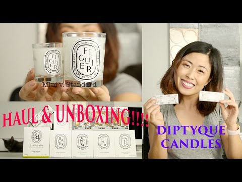 Diptyque Collective Haul/Unboxing | Holiday Collection 2016
