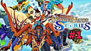 Monster Hunter Stories Android Game Play #1
