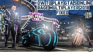 How to play GTA 5 Online with your friends for free - RAGE Multiplayer for 1.42 and 1.43 - FIXED!