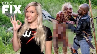 Walking Dead Finally Gives Us A Fully Nude Zombie - IGN Daily Fix