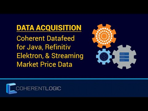 Retrieving Market Price Data from Thomson Reuters Elektron using the Coherent Datafeed API