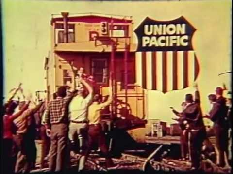 """""""Great Big Rolling Railroad"""" 1970's Era Union Pacific Commercial."""