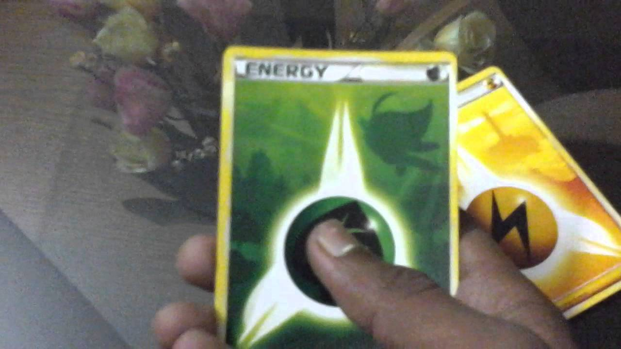 Hs unleashed pokemon energy card all youtube hs unleashed pokemon energy card all buycottarizona Gallery