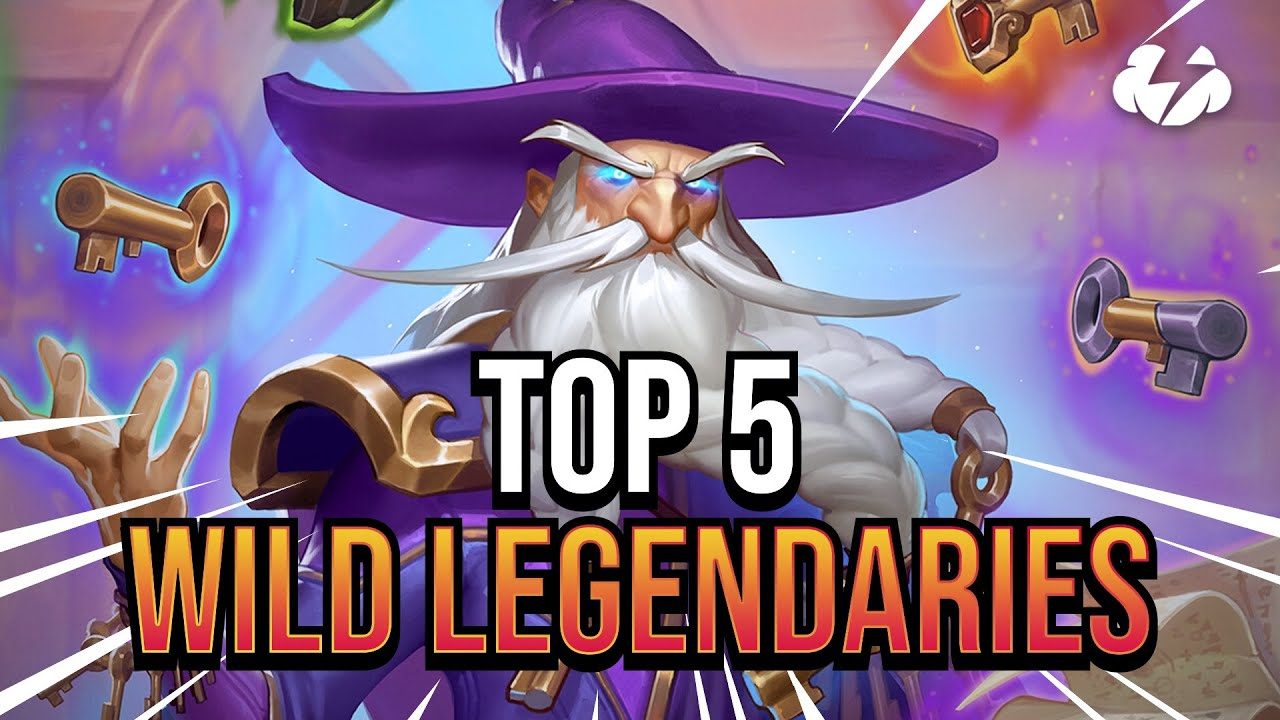 Top 5 NEW Wild LEGENDARIES in Scholomance Academy | Tempo Strategy Hearthstone [Scholomance Academy]