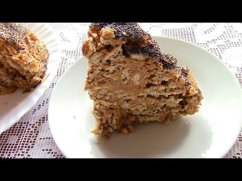 ТОРТ МУРАВЕЙНИК .Торт из печенья за 10 минут +время на охлаждение
