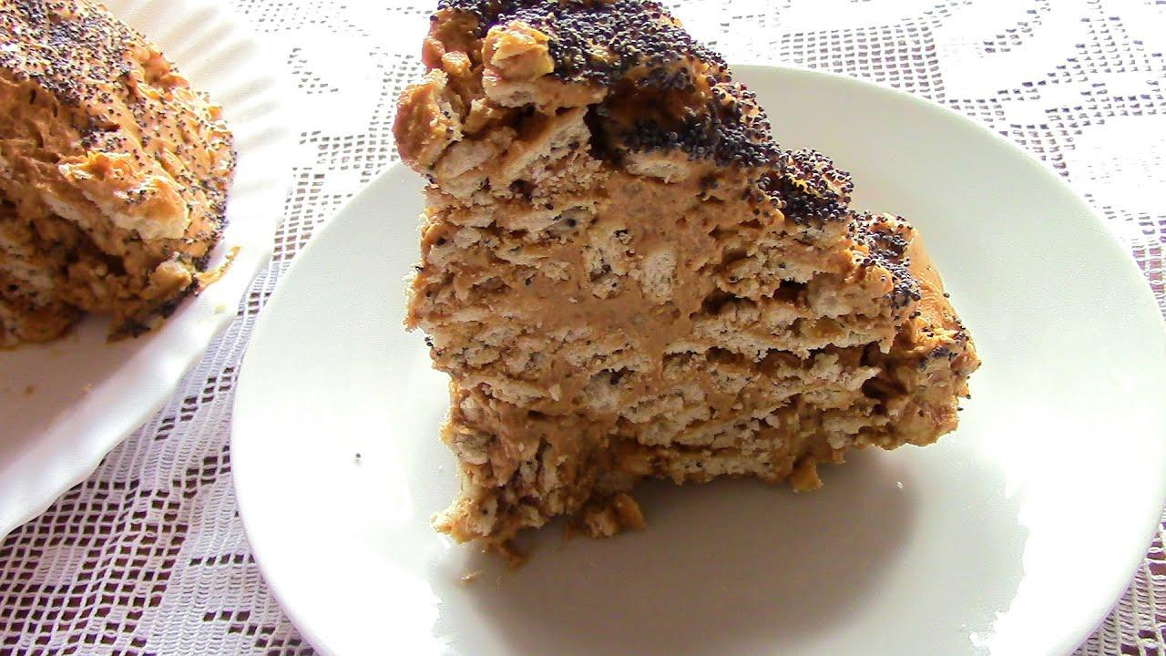 ТОРТ МУРАВЕЙНИК .Торт из печенья за 10 минут +время на ...