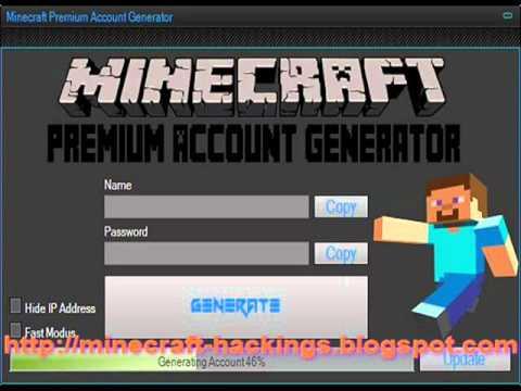 Generate Unlimited Minecraft Accounts