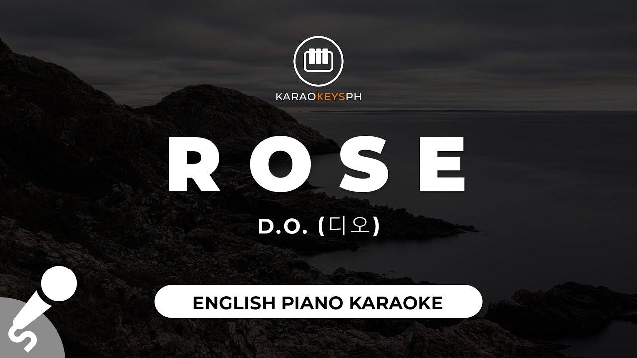 Rose [English Ver.] - D.O. (디오) (Piano Karaoke)