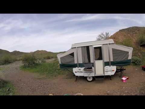 Hattenburg's First Pop Up trailer camping trip