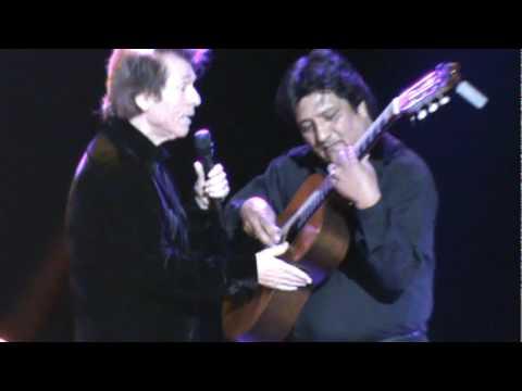 Raphael - Cuando llora mi guitarra y  Chabuca Limeña 18 Nov  Lima - Perú
