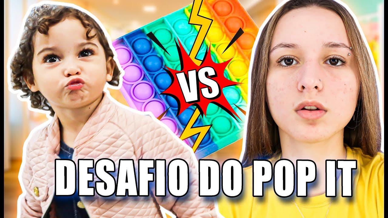 DESAFIO DO POP IT COM A MINHA IRMÃ!!