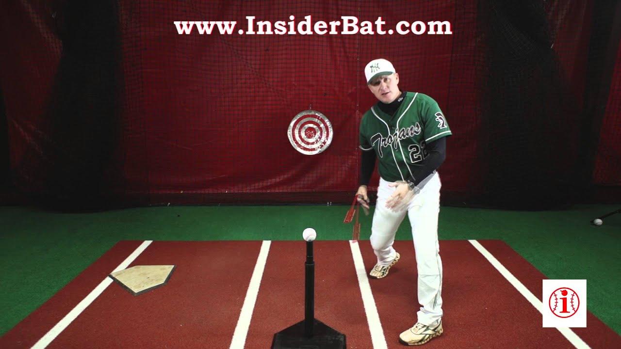 Insider Bat Hold Your Finish Drill