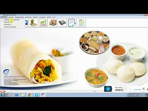 Restaurant  &  fast food  Billing Software Demo