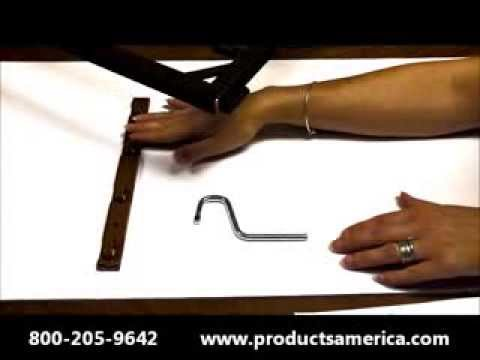 Baby Crib Hardware   Spring Handle Hooks SH15   YouTube