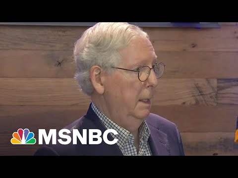 Sen. Mcconnell Tells Big Business To 'Stay Out Of Politics' | Morning Joe | MSNBC