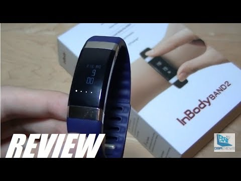 REVIEW: InBody Band 2 Body Composition Activity Tracker!
