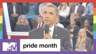 Proud Moment: A Conversation with Obama | Pride Month | MTV