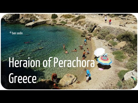 Lovely Small Beach, Heraion of Perachora, Greece