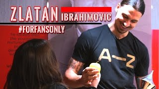 EXCLUSIVE: Hanging out with Zlatan | #ForFansOnly | Astro SuperSport
