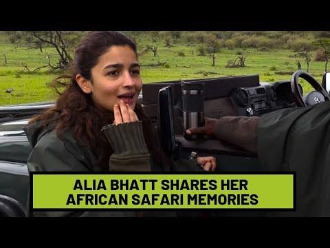 Alia Bhatt Gives A Look Into Her African Safari | SpotboyE Mp3