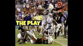 "Quincy Wilson ""The Play"" WVU vs Miami 2003"