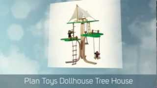 Green Design Blog - Plan Toys Dollhouse Tree House