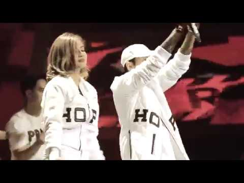 Young lex FT Awkarin-BAD Live ISMA 2K16