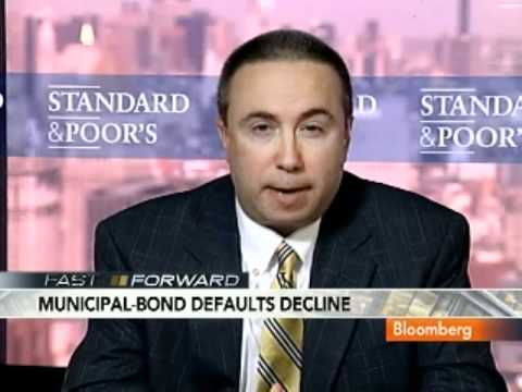 S&P's Rieger Says Muni Bond Defaults Down 50% This Year