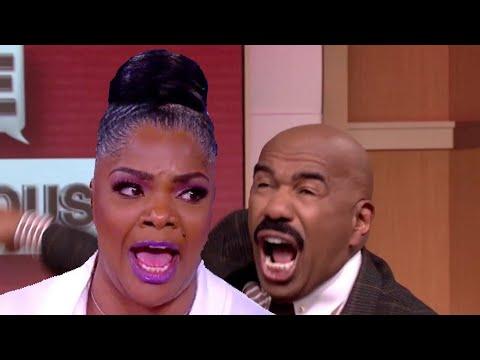 Monique and Steve Harvey Get into Heated Argument| Monique allegedly Threatens To Slap Steve!